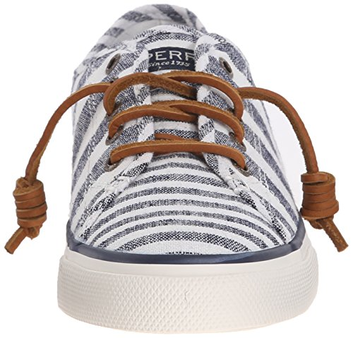 Sperry Seacoast Multi Stripe Damen Sneakers Grün (DUSTY TEAL)