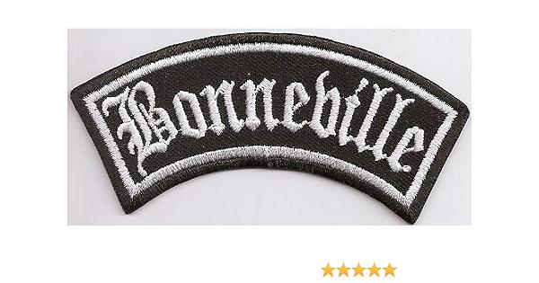 Bonneville Biker Rocker Motorrad Heavy Metal Aufnäher Patch Abzeichen Auto