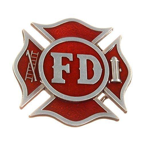 Buckle der US- Feuerwehr, Firefighter, Fire Department - - Firefighter Gürtelschnalle