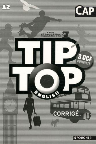 TIP-TOP English CAP Corrigé