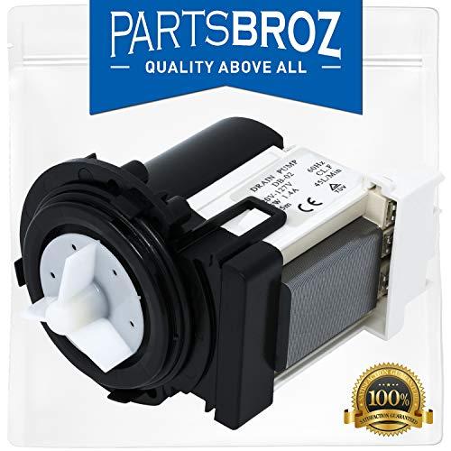 PartsBroz 4681EA2001T Abflusspumpe für Kenmore und LG Unterlegscheiben - ersetzt Teilenummern AP5328388, 4681EA1007G, 2003273, 4681EA1007D und mehr -