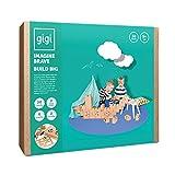 GIGI Blocks GI-G-6 30 Pieces Large Mechanic, Multi-Colour