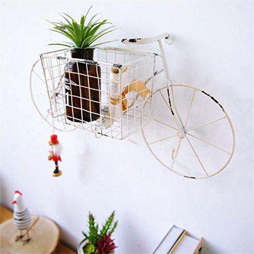 Retro Bike ModelingWand Regal Eisen für Bar Wohnzimmer   LOFT Wandbehang Cube Regal für...