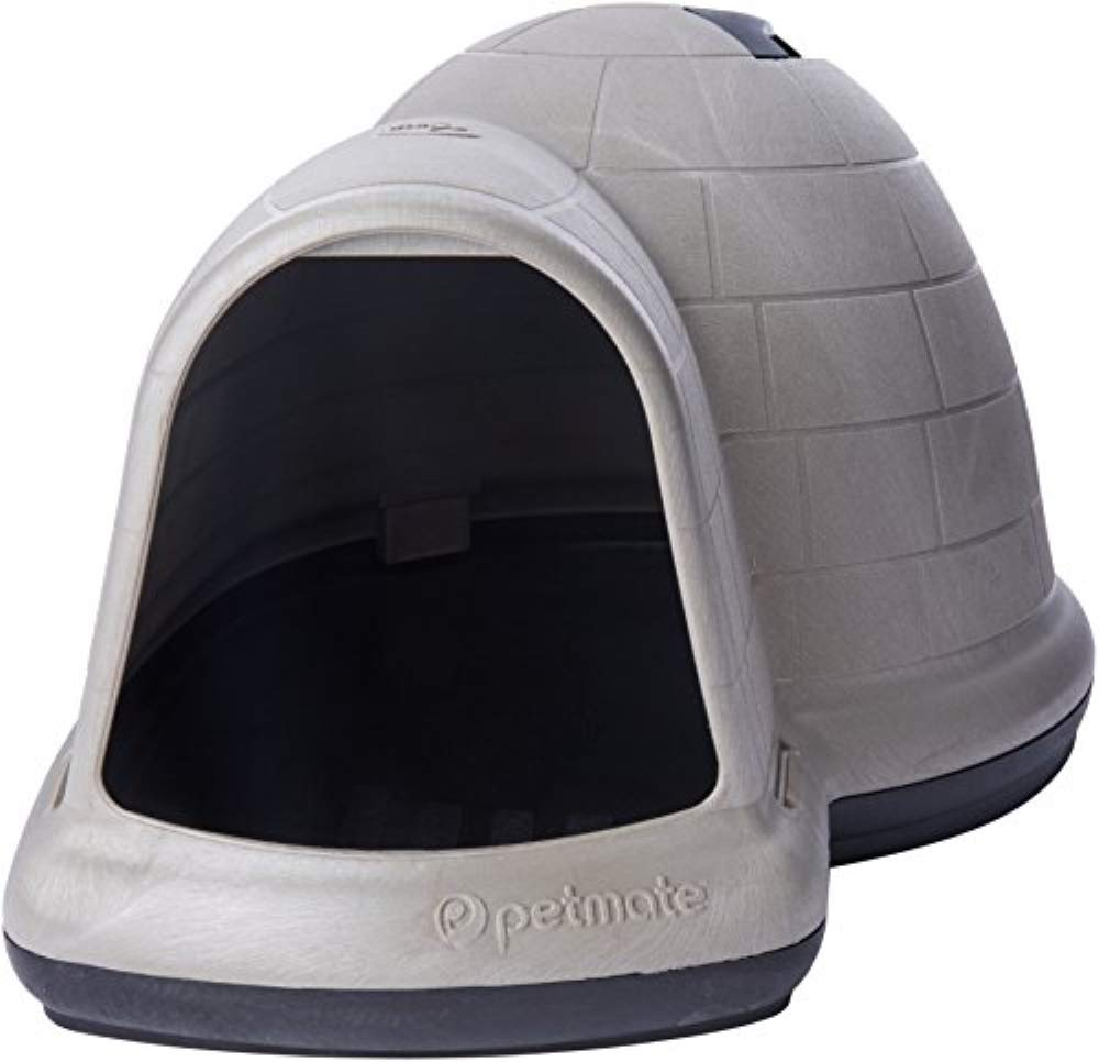 Petmate – Indigo Igloo Style Dog Kennel – Medium 38″(L) x 31″(W) x 23″(H)