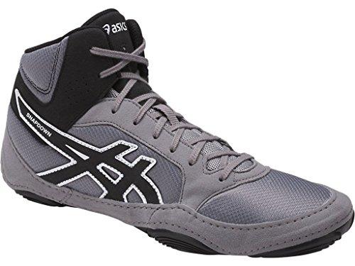 Asics Wrestling Ringer Schuhe Asics Snapdown 2 J703Y 9690, Farbe: aluminium-schwarz-weiß (38)