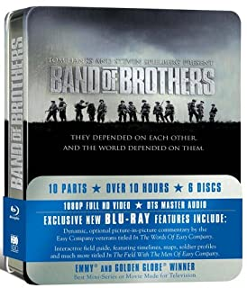 Band Of Brothers - HBO Complete Series [Blu-ray] (B001DEAAIY) | Amazon price tracker / tracking, Amazon price history charts, Amazon price watches, Amazon price drop alerts