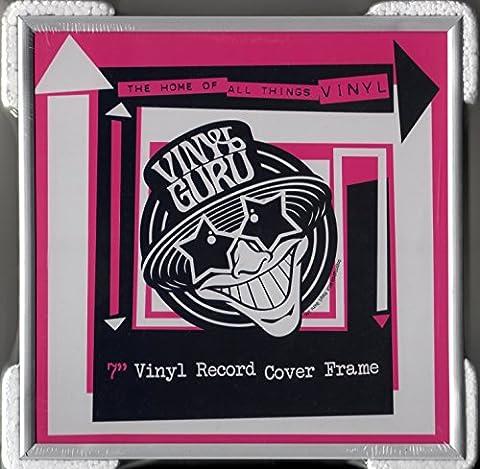 Cadre Pour Vinyle - En Aluminium brut 17,8cm pour disques vinyles