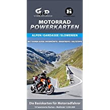 Motorrad Powerkarten Alpen