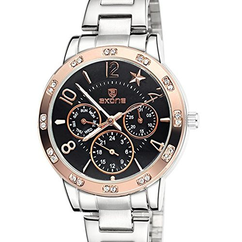 Astarsport orologio da donna cronografo al quarzo acciaio inox band 266304