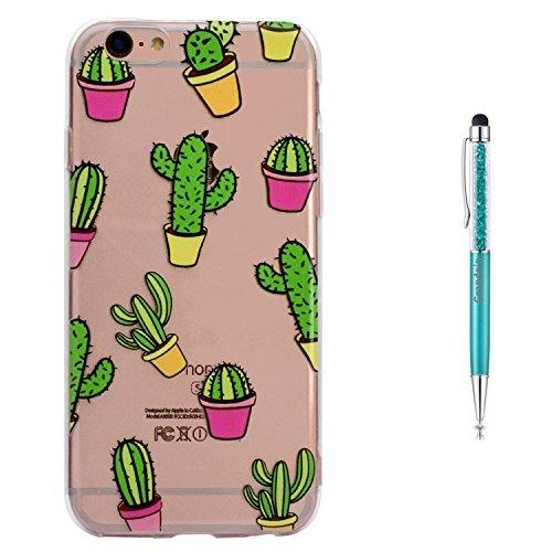 Grandoin iPhone 6S Plus Hülle,iPhone 6 Plus HandyHülle, Süßes Muster Weiche TPU Silikon Schutz Handy Handytasche Etui Schale Schutzhülle für Apple iPhone 6S Plus/iPhone 6 Plus 5.5