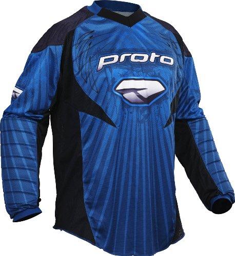 Proto Jersey 10 Burst blau, Gr.XXXL - Dye Paintball Bekleidung