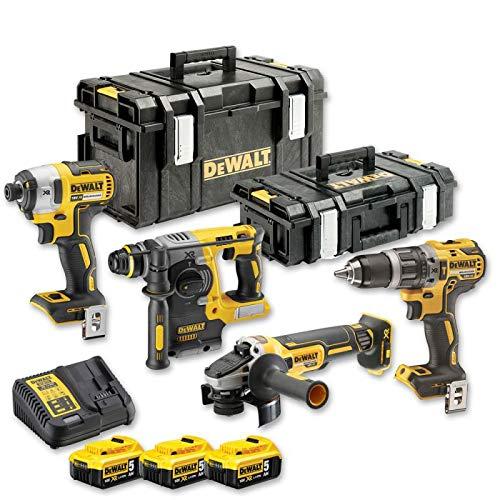 DeWalt batería KOMBO Pack dck422p3de QW 18V-dcd796schlagbohrschrauber
