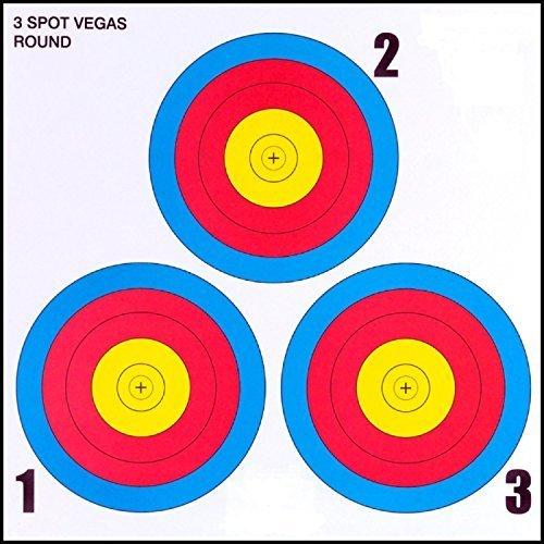 30-06Outdoors 3Spot Vegas Target (100-pack) by 30-06Outdoors (Target Spots)