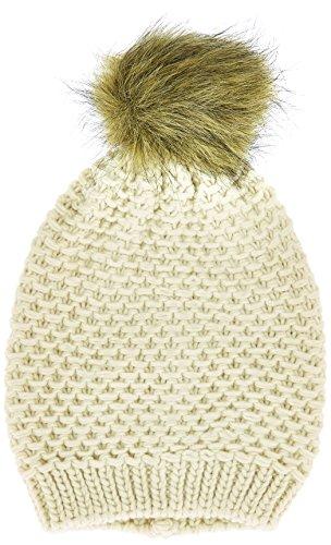 PIECES - Mansi Oversized Hood, Berretto da donna, grigio (whitecap gray), unica (Taglia produttore: unica)