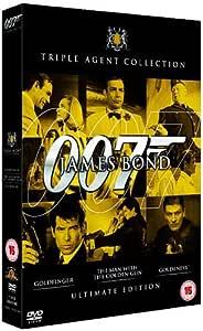 James Bond UltGolden Triple Pack DVD [1964]
