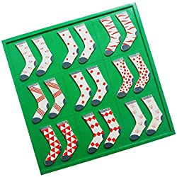 Skola Toys Sock Twins Patterns - Pair, Match & Learn
