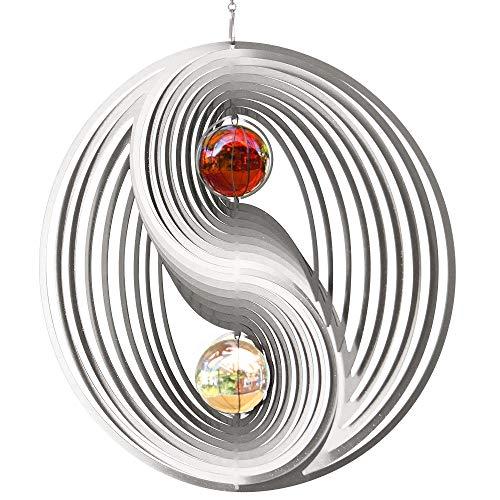 Windspiel | Klangspiel | Klangröhren | Edelstahl | YINYANG 300