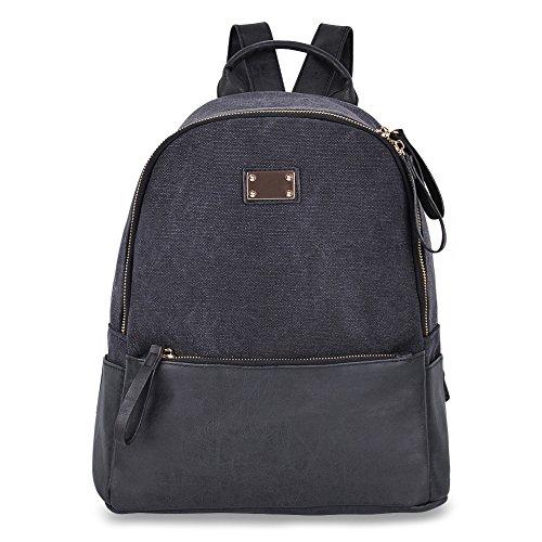 Imagen de vbiger bolso  informal para viajar para uso diario negro