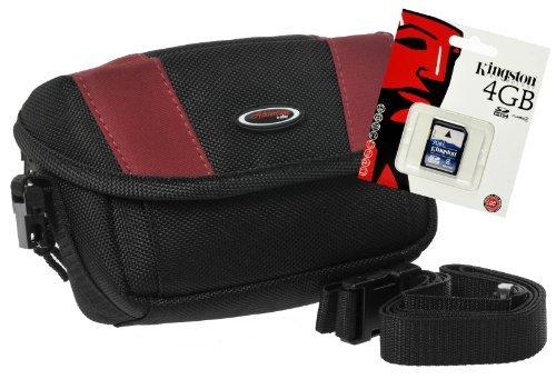 Foto Tasche Outdoor Kamera Bag ADVENTURE QUER Tasche mit 4 G SD Karte