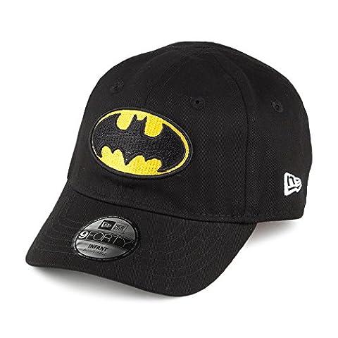 New Era Unisex-Kinder Caps / Snapback Cap Hero Essential Batman black Infant