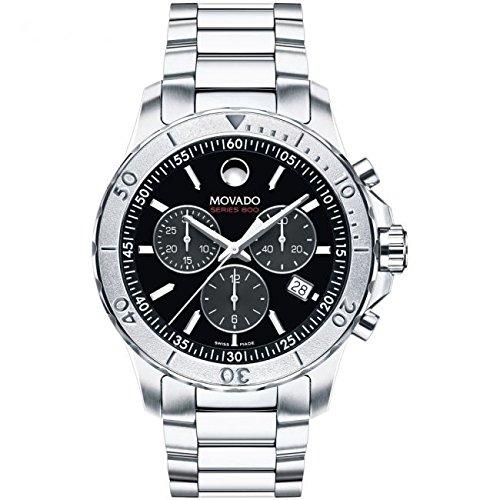 Para hombre Movado Serie 800Cronógrafo Reloj 2600110