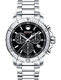 amazon co uk movado watches mens movado series 800 chronograph watch 2600110