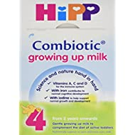 HiPP Organic Growing Up Milk From 2 Years 600 g (Pack of 4)