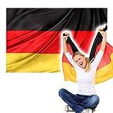 TextildruckPlauen Flagge Fahne 150 x 90cm Verschiedene Länder Fussball (Deutschland)