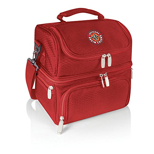 Picnic Time NCAA Pranzo Isolierte Lunch-Tasche, Unisex, rot - Lafayette Tote