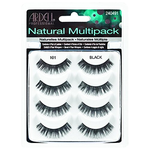 ARDELL 4 Pack Natural 101 Black, 25 g - Ardell Natural