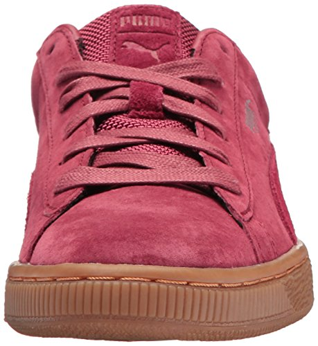 PUMA Unisex-Kids Basket Classic Weatherproof Sneaker  Tibetan Red-Tibetan Red  1 5 M US Little Kid