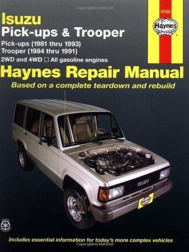 Isuzu Trooper '84'91 & Pickup '81'93 (Haynes Repair Manuals) by John Haynes (1990-07-19)