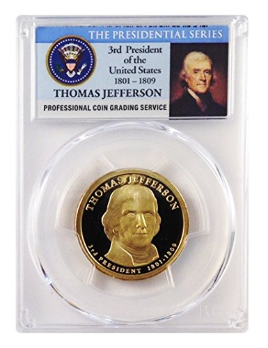 US Mint Proof Presidential Dollar 2007-s US Presidential Gedenkmünzen. Zertifiziert, PCGS Bei PR69Tiefe Cameo. -