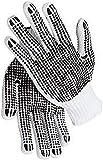Texxor Polyesterstrickhandschuh, beidseitig PVC-Noppen, Kat. 1, 12 Paar, Größe 11