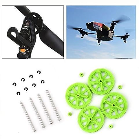 UNIK pour perroquet drone 2,0 parties / mise à niveau des engrenages / accessoires de drones / engrenages du moteur et de l'arbre