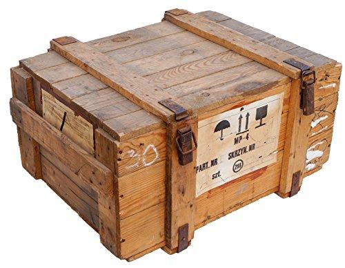 Caja de transporte Natural bruto Almacenamiento pecho ca 78x59x41cm pe