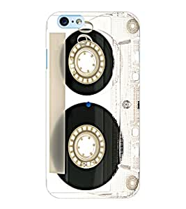 ColourCraft Retro Audio Cassette Design Back Case Cover for APPLE IPHONE 6