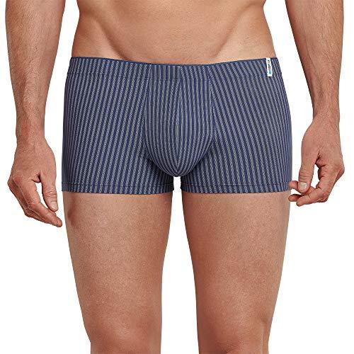 Schiesser Herren Long Life Cotton Shorts' Boxershorts, Blau (Indigo 824), XXL