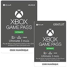 Abonnement Xbox Game Pass Ultimate 3 mois + 3 Mois Gratuit   Xbox One/Win 10 PC - Code jeu à télécharger