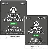 Abonnement Xbox Game Pass Ultimate 3 mois + 3 Mois Gratuit | Xbox One/Win 10 PC - Code jeu à télécharger