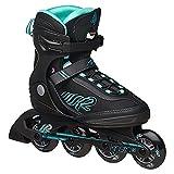K2 Skate Damen Kinetic 80 Inline Skates, schwarz, 36 EU