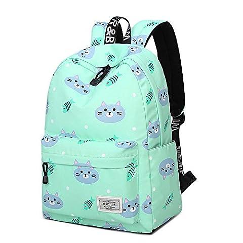 Ms. kleinen frischen Stil Freizeitrucksack Reiserucksack Rucksack Mädchen Mädchen Shopping-Taschen , 1