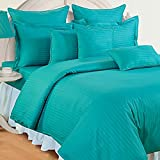 #2: Trance Home Linen 100% Cotton 210 TC Single Fitted Bedsheet 78