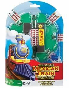 Der Mexican Train Game Set mit elektronischer Hub und Stifte
