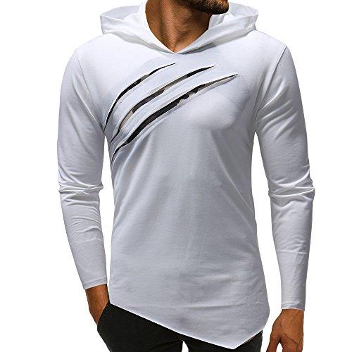 ZYUEER Sweat à Capuche Homme, Printemps Automne Hiver Sweat-Shirt Veste AméLiorer Pas Cher Hoodies Slim Chaud Pull Manteau (Rouge, M)
