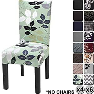 YISUN Modern Stretch Dining Chair Covers Removable ...