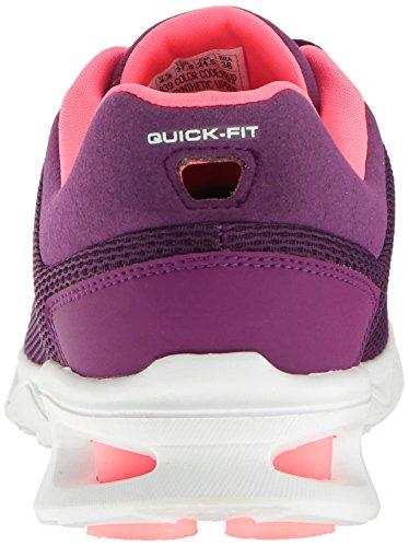A A Toda Roxo Rosa Quente Skechers Caminhada Em Para Zip Tênis Ir Malha Pé 5wqz8PTB