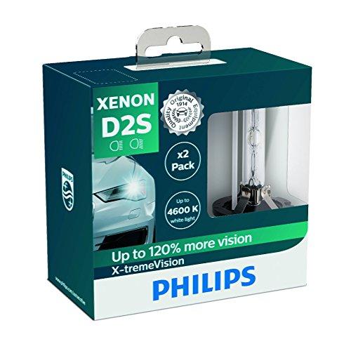 Preisvergleich Produktbild Philips 85122XVS2 Xenon-Scheinwerferlampe X-tremeVision D2S,  Doppelset