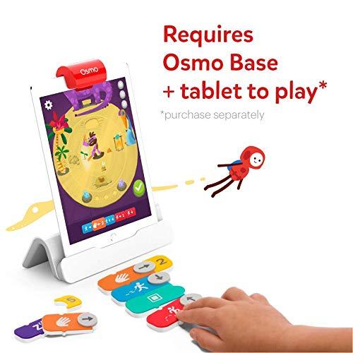 OSMO 902-00002 Ba Coding Jam-Alter: 6-12-Musik-Komposition, Programmieren und Problemlösung-Für iPad und Fire Tablet Basis Wird benötigt