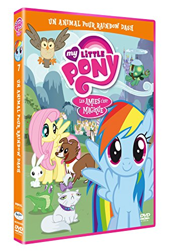 My little pony : un animal pour rainbow dash [FR Import] (Rainbow Farbe Dash)